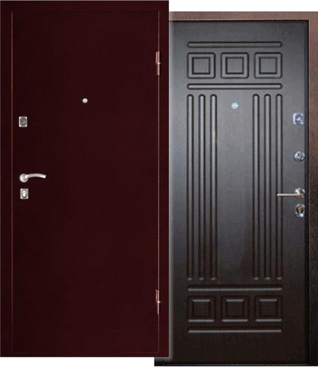 дверь стальной стиль