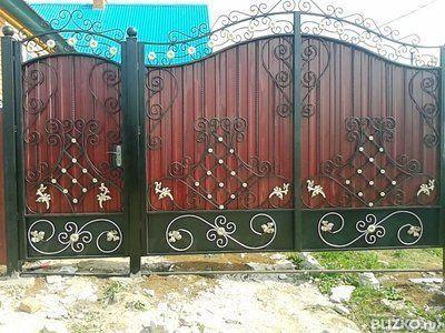 Ворота сделать казань ворота цены фото