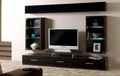 Living room cupboard furniture design