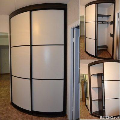 Шкаф-купе стекло с пескоструйным рисунком в гостиную от комп.