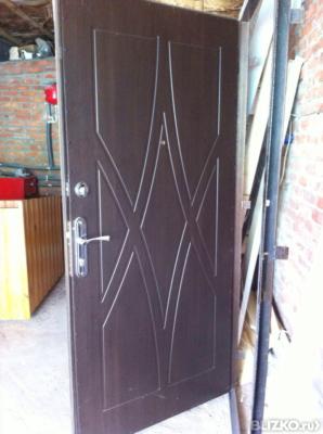 дверь металлическая остеклённая купить