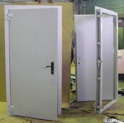 дверь стальная сварная