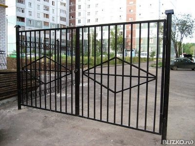 Ворота металлические в омске цена двери ворот