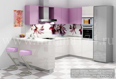 кухонные гарнитуры угловые с барной стойкой фото