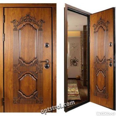 двери входные уличные 2мм на дом