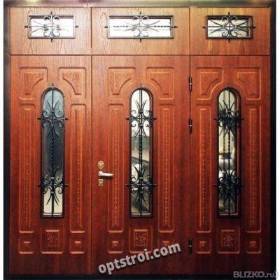 нестандартные входные двери в дом на заказ цена