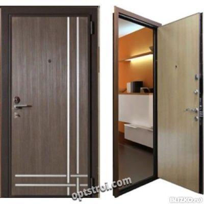 нестандартная входная дверь 1200х2100