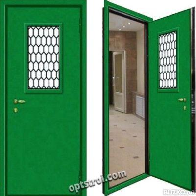 дверь металлическая для технических