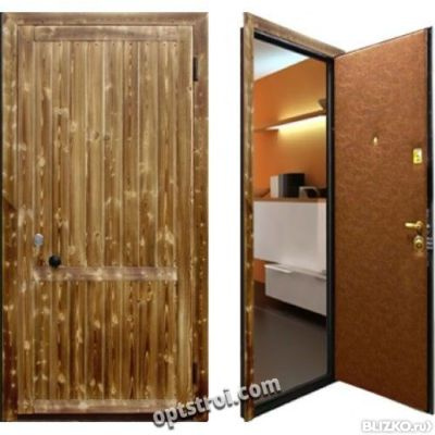 металлическая дверь для дачи от производителя