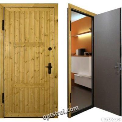 металлические двери для дачи от производителя цена