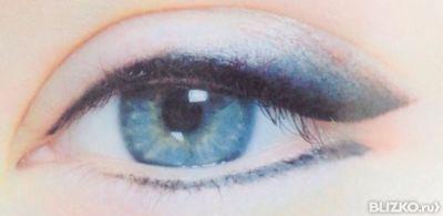 Перманентный макияж глаз растушевка