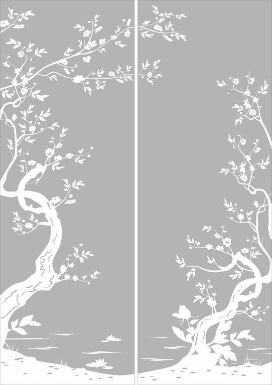 сильно картинки для пескоструя деревья человека фоне